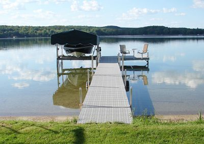 56ft w/ 8x12 Sun Deck - Gray Titan Decking