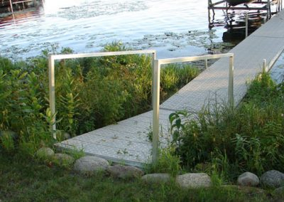 Ramp with Hand Rail