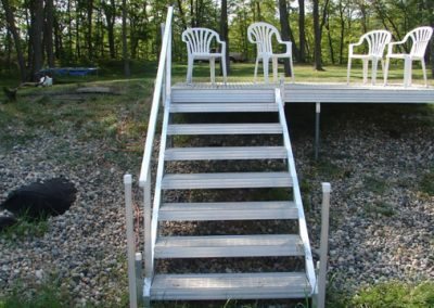 Steps with Deck