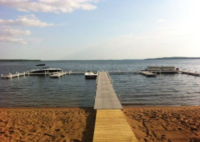Resort on Gull Lake Commercial Dock